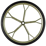 Rage Powersports Hunting Game Cart 18.5' Solid Rubber Replacement Wheel