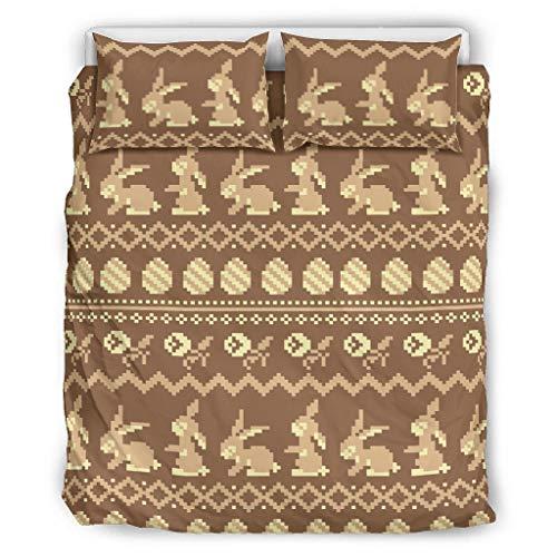 Twelve constellations Juego de ropa de cama de microfibra ultrasuave, 3 piezas, para toda la temporada, color blanco, 264 x 229 cm