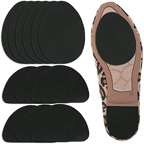 6 Pairs Non-Skid Shoe Pads, UrChoice Non-Slip Shoe Stickers Self-Adhesive Shoe Grips Rubber Shoe Cushion Shoes Sole Protector - for Man and Women
