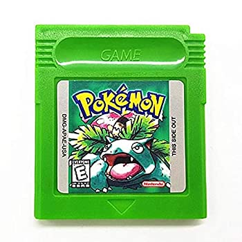 Pokemon Green Version Reproduction Gameboy Color Game Catridge [Gameboy Color]  USA
