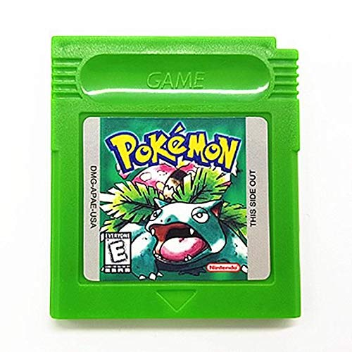 Pokemon Green Version Reproduction Gameboy Color Game Catridge [Gameboy Color] (USA)