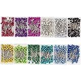 Spille da cucito, 12 colori, 1.4 pollici, 1200 pezzi