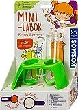 KOSMOS 602321 Erstes Lernen: Mini-Labor, mit Reagenzgläser, Pipette, Messlöffel, für Kinder ab 4 Jahre, Forscher-Set, Lernspielzeug für drinnen und draußen, Experimentierset für Kindergarten-Kinder