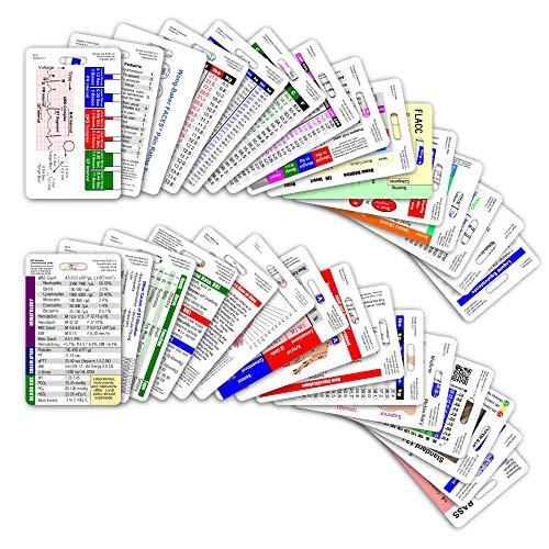 Comprehensive Vertical Badge Card Reference Set - 30 Cards