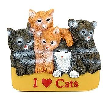 AKND Pets Jumbo Pelle à Litière pour Chats avec Support Mural | Tamis en Aluminium | Pelle Creuse avec Long Manche Durable pour Tamisage et Nettoyage de la Litière | avec I Love Cats Aimant Frigo