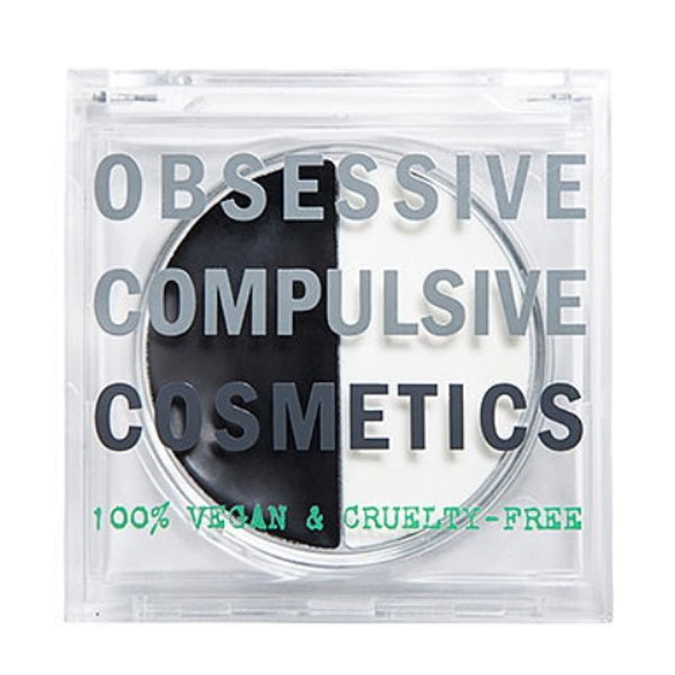 寛大なシンポジウム音節(3 Pack) OBSESSIVE COMPULSIVE COSMETICS Tarred & Feathered Lip Balm Duo - Black & White (並行輸入品)