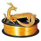 Soie Or Filament PLA 1.75mm, GIANTARM Imprimante Filament 3D PLA 1kg Bobine