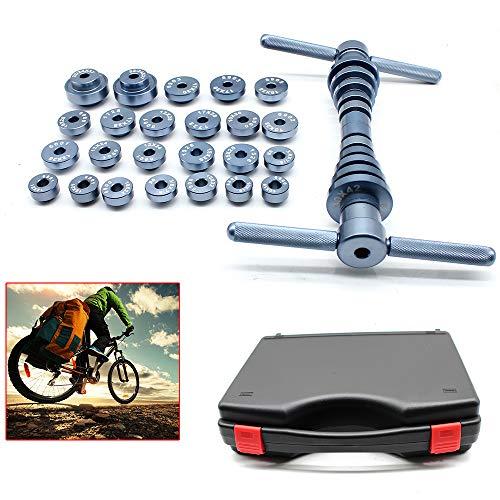 Presssatz für Radnabenlager Fahrrad-Tretlager Fahrrad Nabe & BB-Achslager Einbauwerkzeug 25St.