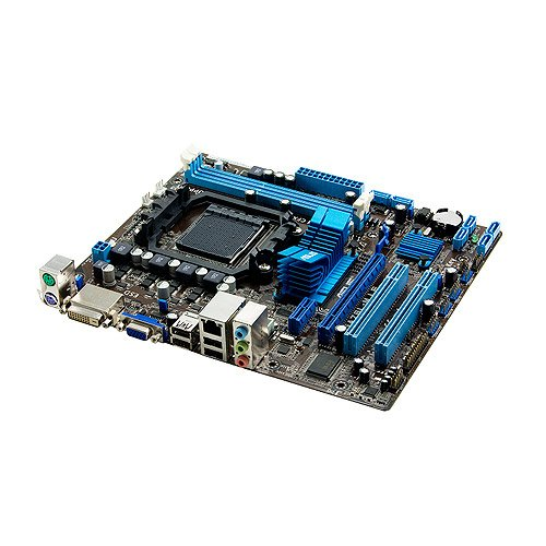 Asus M5A78L-M LE AM3+ Mainboard (Mini ATX, AMD 760G, 2X DDR3 Speicher, USB)
