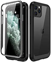 Miracase for iPhone 11 Pro Max 6.5Inch,Clear Full Body Heavy Duty Case with Screen Protector Shockproof Scratch Resistant Rugged Case Cover Compatible with Apple iPhone11 Pro Max
