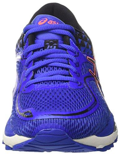 Asics T7B8N4890, Zapatillas de Running Mujer, Morado (Blue Purple/Black/Flash Coral), 38 EU
