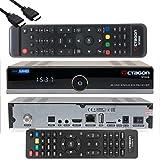 OCTAGON Sintonizador SF8008 4K UHD HDR Single Sat DVB-S2X Multistream HEVC Set-Top Box - Receptor satélite, incluye mando a distancia y cable HDMI EasyMouse