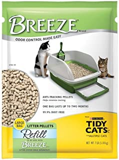 Purina Tidy Cats BREEZE Cat Litter Pellets Refill for Multiple Cats 7 lb. Pouch