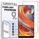 REY Protector de Pantalla para XIAOMI MI Mix 2 / MI Mix 2S, Cristal Vidrio Templado Premium