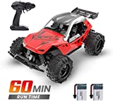DEERC Remote Control Car High Speed RC Racing Cars 20 KM/H, 2.4 GHZ Fast Toy Car for Kids, 2...