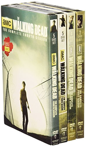 WALKING DEAD SEASONS 1 THROUGH 4 DVD
