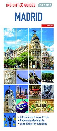Insight Guides Flexi Map Madrid (Insight Maps) (Insight Flexi Maps)