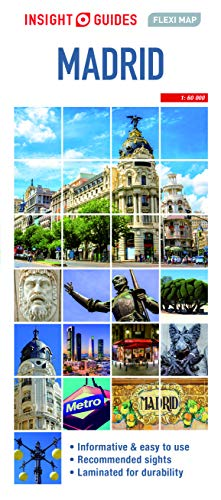 Insight Guides Flexi Map Madrid (Insight Maps)