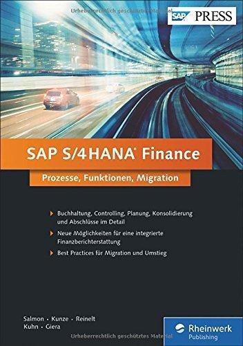 SAP S/4HANA Finance: Ihr umfassendes Handbuch zu Simple Finance (sFIN) (SAP PRESS) by Janet Salmon (2016-08-29)