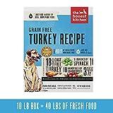 Honest Kitchen Human Grade Dehydrated Grain Free Turkey Dog Food 10 lb...