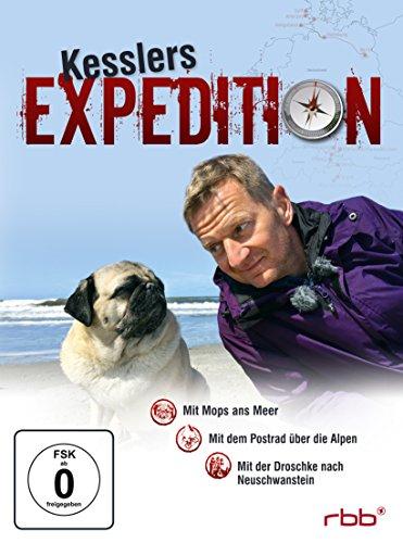 Kesslers Expedition Box 4 (3er DVD-Box) Michael Kessler Mit Mops ans Meer Mit dem Postrad über die Alpen Mit der Droschke nach Neuschwanstein