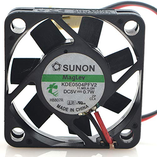 For Sunon KDE0504PFV2 Maglev Vapo DC5V Fan 4CM 4010 40x40x10MM 0.7W CPU Fan