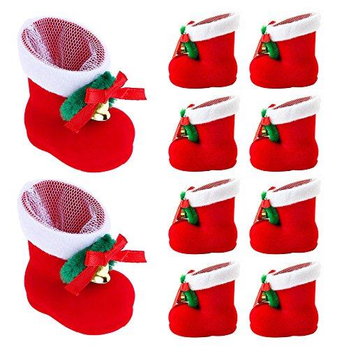 Alsino Lot de 4 Mini bonnet de noel couvre-oeufs pour les maintenir bien chaud Sur la table de f/ête wm-133