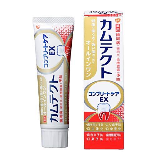 [医薬部外品]カムテクト コンプリートケアEX  歯周病(歯肉炎・歯槽膿漏) 予防 歯磨き粉 105g