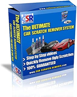 The Ultimate Car Scratch Remover System