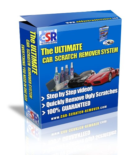 The Ultimate Car Scratch Remover Kit - Safest Way to Remove Clear Coat...