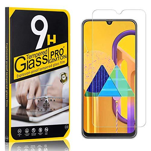 GIMTON Displayschutzfolie für Galaxy M30S, Ultra klar Schutzfilm aus Gehärtetem Glas, Anti Kratzen Displayschutz Schutzfolie für Samsung Galaxy M30S, 4 Stück