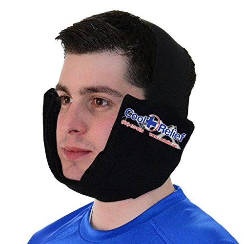 Cool Relief Soft Flex-Ice Jaw Ice Pack with Extended Cold for Wisdom Teeth