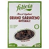 felicia mezzi rigatoni 100% grano saraceno bio, 340 grammi