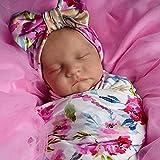 LNIBA Reborn Muñecas de bebé de Vinilo de Silicona, Muñecas Reborn Muñeca Recién Nacida e Bebé, Silicona Cuerpo Completo Realista e Recién, Nacido Bebés Renacidos Muñeca
