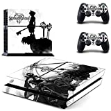Junsi Kingdom Hearts Body Skin Sticker Decal for PS4 Playstation 4...