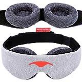 Manta Sleep Mask - 100% Blackout Eye Mask - Zero Eye Pressure -...