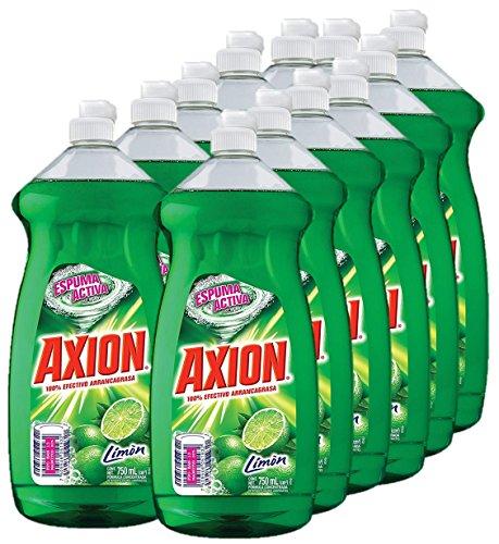 Axion Lavatrastes Limón Líquido, 750 ml