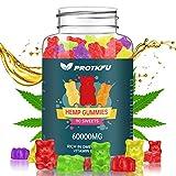 Premium Hemp Gummies 60000mg 90ct by PROTKFU - 100% Natural Hemp Oil Infused Gummy Bears