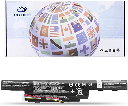 ANTIEE AS16B8J AS16B5J Batería para Acer Aspire E5-575G E5-575G-53VG 15.6' Series Laptop AS16B8J 3INR/19/65-2 11.1V 62.2Wh 5600mAh