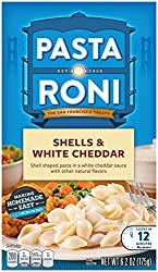 Pasta Roni, Shells & White Cheddar, 6.2oz Box