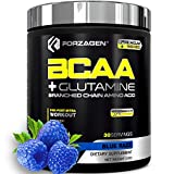 Forzagen Bcaa Powder Workout Recovery - Best BCAA | BCAAS Amino Acids | Electrolytes Keto Friendly | Hydration Powder| Bcaa Supplements | Post Workout Recovery Drink | Intra Workout (Blue Razz)