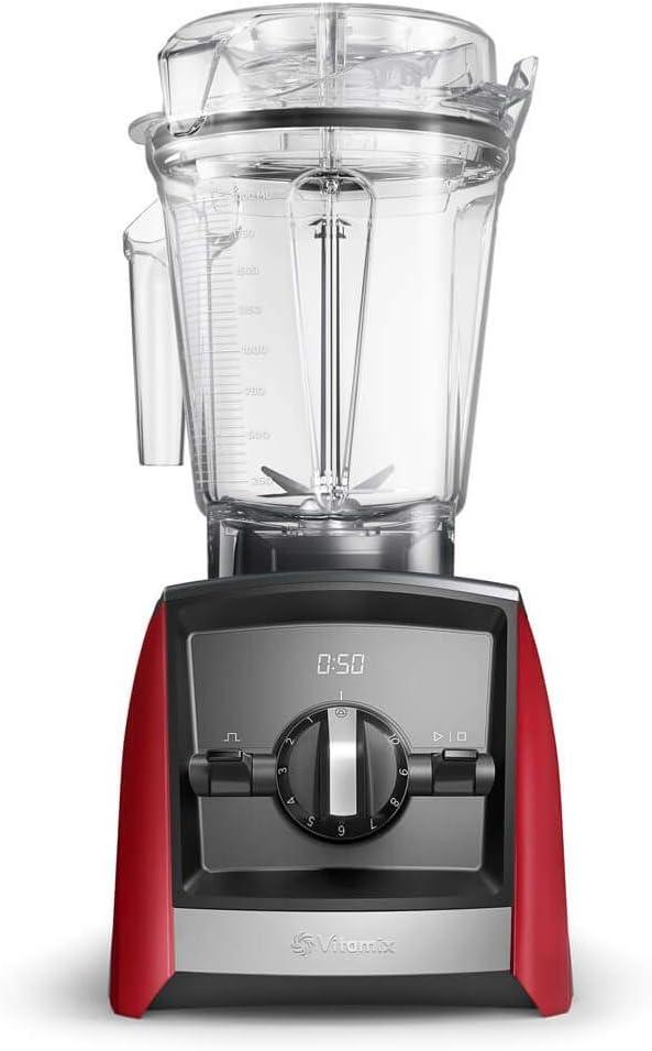 Vitamix Ascent 2300i Batidora Vaso 1400 W, 2 litros, Libre bpa, plástico, Rojo