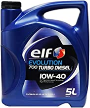Elf Garrafa Aceite para coche Turbo Diésel 10W40 5 litros