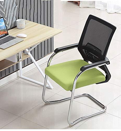 Qinmo Silla ergonómica de escritorio de oficina silla de la computadora silla del acoplamiento con el trasero de la silla Ejecutivo soporte lumbar armas Mediados de mujeres de los hombres adultos niña