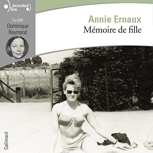 Mémoire de fille audiobook cover art