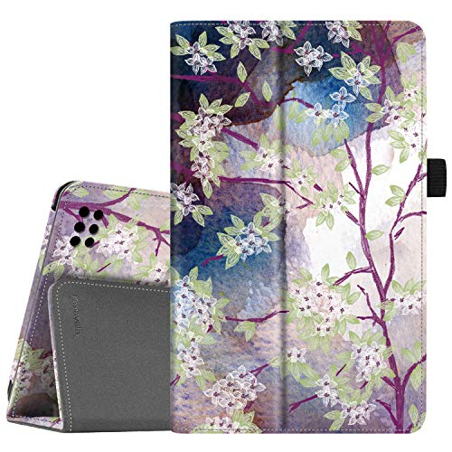 Famavala Folio Case Cover Compatible with 7-Inch Fire 7 Tablet [9th / 7th Generation, 2019/2017 Release] (LoveTree)