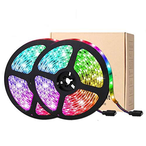 DaPeng Tira Luces LED 10M,12V Luces LED RGB Con Mando a...