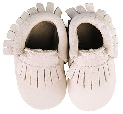 axy , Chaussures souple pour bébé (garçon) Blanc blanc 18-24 mois