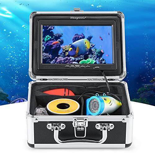 Magreel Angelkamera unterwasserkamera Nachtsicht Fisch Sucher Unterwasser Kamera Fischfinder Angel Zubehör, 7