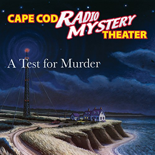 A Test for Murder audiobook cover art